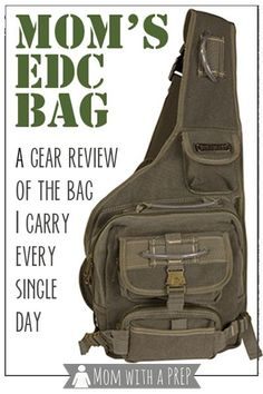 When I wrote my article on my Mom's EDC list, I got a ton of questions from people wanting to know where I got the bag. So, I decided to try it for you. Zombie Survival Gear, Survival Life, Survival Prepping, Survival Skills, Emergency Preparedness, Emergency Kits, Survival Hacks, Emergency Supplies, Survival Quotes