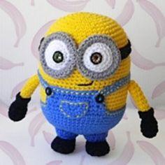 Bob Minion crochet pattern, free crochet pattern