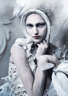Sasha Pivovarova  by Tim Walker