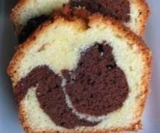 Recette Gâteau marbré moelleux par Damy - recette de la catégorie Pâtisseries sucrées
