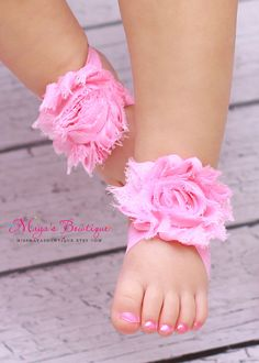 Barefoot Baby sandals - I am going to attempt to make these tomorrow!  :D