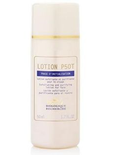 Lotion P50T Product description: Lotion P50T has been developed to suit all skin types: Sensitive: by the proportion of acid and the soothing extract of amica S