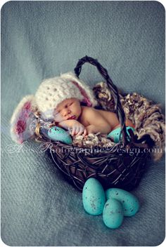Aves Photography Camp Bowie Fort Worth Newborn Modern Baby Photography 5462 Happy Easter from the Aves