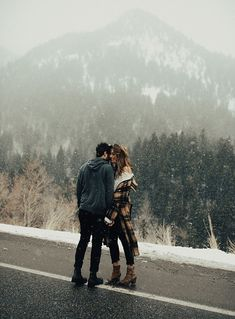 Lovers in the Mountains | By Tezza