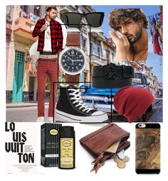 """""""Bez naslova #184"""" by selma-masic1 ❤ liked on Polyvore featuring Superdry, Brioni, Converse, Shinola, Yves Saint Laurent, Versace, Coal, Louis Vuitton, The Art of Shaving and Samsung"""