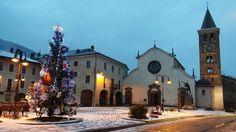La piazza di Sant'Antonino  #myValsusa 21.12.16 #fotodelgiorno di Bruno Andolfatto