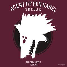 Dragon Age - Agent of Fen'Harel by firlachiel