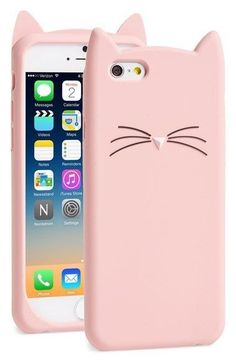 This kitty iPhone case is so cute!