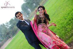 South Asian Bride & Groom -- Dulha & Dulhan