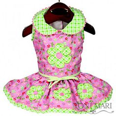 Iris Garden Daisy Dog Dress - $55.95