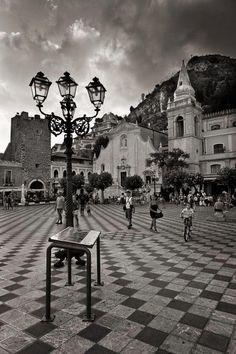 Taormina - Sicily Italy by Maurizio Grasso