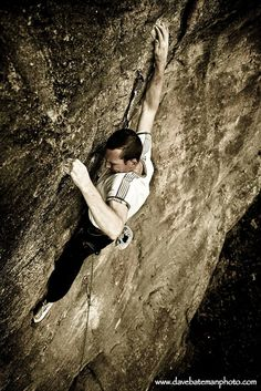 Determination - sports photography: rock climbing  straight up how on earth do they have the strength for this