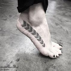 "Balazs Bercsenyi   Budapest, Hungary / On the Road ""That Way"" #ink #tattoo"