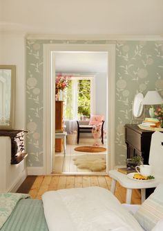 Summer house interior design is an important way to stage your home. Perhaps, you are reading this and you have a plan to sell your home Paint Furniture, White Furniture, White Bed Covers, Sweden House, Cute House, Scandinavian Home, Best Interior Design, Wood Pieces, Cottage Homes