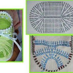 Senest opdateret 14/07/16 Indrømmet – jeg er fascineret af hæklet fodtøj ogi øjeblikkethæklede baby sandaler!  Jeg måtte lige afprøve en ny model. Opskriften og diagrammet jeg er gået ud fra er her. Jeg har dog som altid lavet mine egne tilføjelser. Hyggeligt projekt. Sålen måler ca 12 cm og der er brugt lidt under … Læs videre Hæklede baby sandaler →