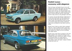 Opel Kadett Brochure | by Hugo90- The Longest Journey, Brochures, Cars For Sale, North America, Classic Cars, Competition, Germany, Explore, Autos