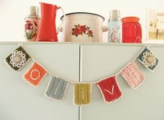 Crochet Name Garland from Dottie Angel on Flickr