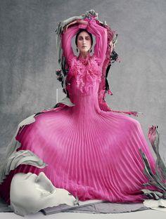Anna Cleveland by Sølve Sundsbø for Vogue Italia March 2016 9