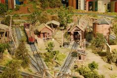 """model railroad structure images 