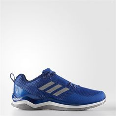 77ae5ba0c9f135 Adidas Speed Trainer 3 Shoes (Collegiate Royal   Metallic Silver   Running  White) Adidas