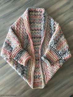 Crochet Cardigan Pattern, Crochet Jacket, Crochet Shawl, Crochet Shrugs, Free Crochet, Knit Crochet, Crochet Patterns, Crochet Sweaters, Crotchet
