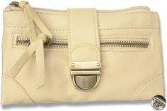 Dámska peňaženka kožená s prackou, béžová 10446 www.vasepenazenky.sk
