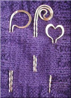 Fine silver shawl pins