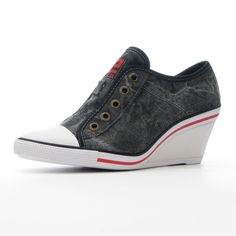 Loving the new wedge sneaker look... but then again I'm a shorty, any reason to add height!