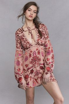 For Love and Lemons Saffron Mini Dress from Trendy and Tipsy. ON SALE NOW!