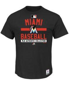 Majestic Men's Miami Marlins Team Property T-Shirt