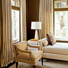 How To Dress Your Windows | Find a foolproof window-treatment combination.