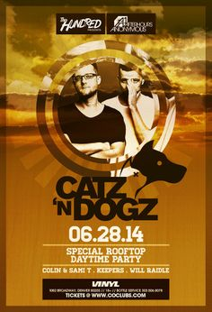 TheHundred & AA Presents | Catz 'N Dogz | Denver | Vinyl ROOFTOP | June 28 DAY Party