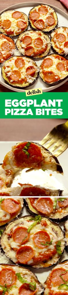 Eggplant pizza will make you forget all about eggplant parm. Get the recipe on Delish.com.