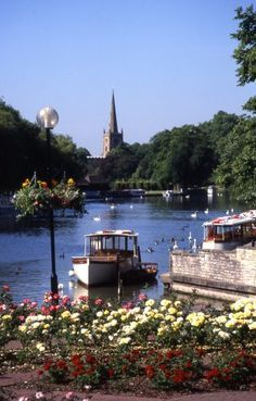 Stratford-upon-Avon, Warwickshire, England ~Shakespeare was born into a family of importance in this town in 1564. The Royal Shakespeare Theater, Tudor village atmosphere and some great festivals make this a nice place to visit.