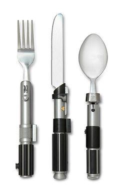 Star Wars Lightsaber Flatware Set