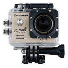Test complet et vidéo de ma caméra sport Excelvan ! Ca va bouger !