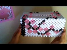 水晶串珠 梅花圖案紙巾盒 3/3 - YouTube