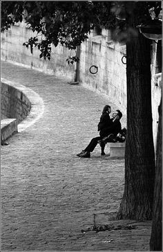 Just you and I, talking, kissing, being close, while the world, and all of its craziness, plays around us. Let's escape for a while.