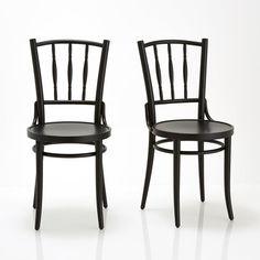 Chaise de bistrot Troket (lot de 2)