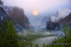 Winter Magic – Yosemite National Park, California