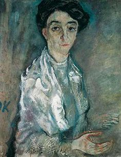 Oskar Kokoschka, Elisabeth Reitler, 1910. Oil on canvas, 65 x 54 cm. Photo: Medienzentrum, Antje Zeis-Loi / Von der Heydt-Museum Wuppertal, © Fondation Oskar Kokoschka/ Bildrecht, Vienna, 2015.