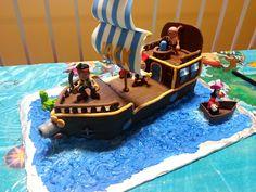 jake and the neverland pirates cake | Jake and the Neverland Pirate Cake — Children's Birthday Cakes