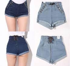 Resultado de imagem para short jeans curto