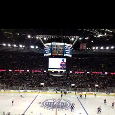 Rexall Place. Edmonton Alberta. Home of the Edmonton Oilers (NHL)