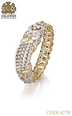 From Belly Rings To Tennis Bracelets, This Jewelry Advice Is King – Finest Jewelry White Gold Diamond Bracelet, Diamond Bracelets, Gold Bangles, Diamond Jewelry, Bangle Bracelets, Amethyst Bracelet, Silver Diamonds, Modern Jewelry, Jewels