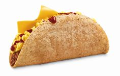 Breakfast Monster Taco from Jack in the Box gives you eggs with your taco meat!