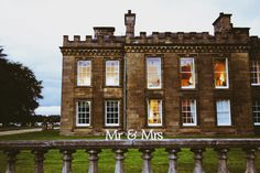 Wedding delights at Gordon Castle Gordon Castle, Blue Sky Photography, 15th Century, Most Beautiful, Castle Weddings, Cottage, Horses, Rustic, Mansions