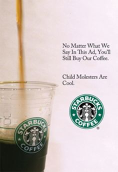 The World Fascinates me: Starbucks; Ads and Layouts
