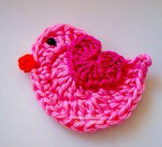 Tecendo Artes em Crochet: Passarinho quer Voar ♫