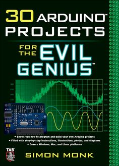 printer design printer projects printer diy Products Products 30 Arduino Projects for the Evil Genius (eBook) you can find similar pins be. Manual Arduino, Arduino Uno, Arduino Programming, Linux, Arduino Beginner, Electrical Projects, Electronics Projects, Computer Projects, Projetos Raspberry Pi